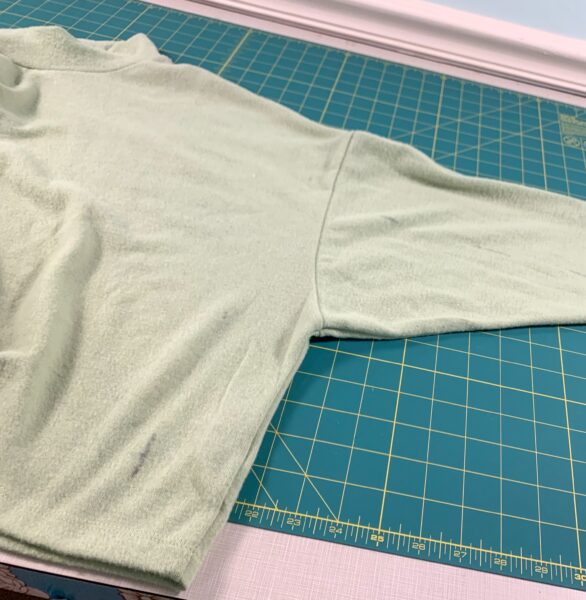 dyed shirt with spots