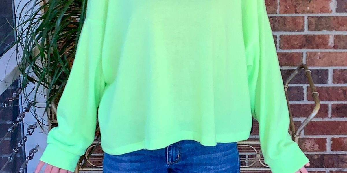 refashionista from neon yellow to green and mellow