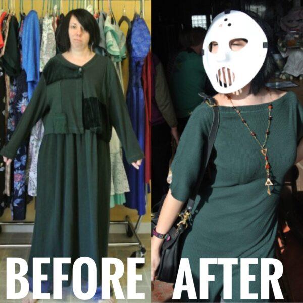 Trace & Stitch Dress Refashion 7