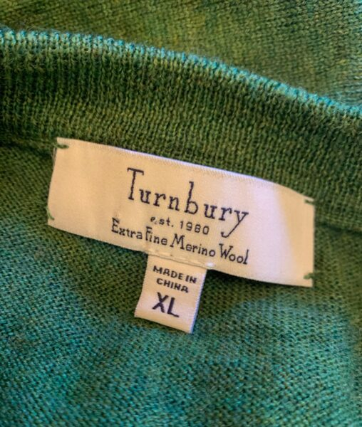 Turnbury label