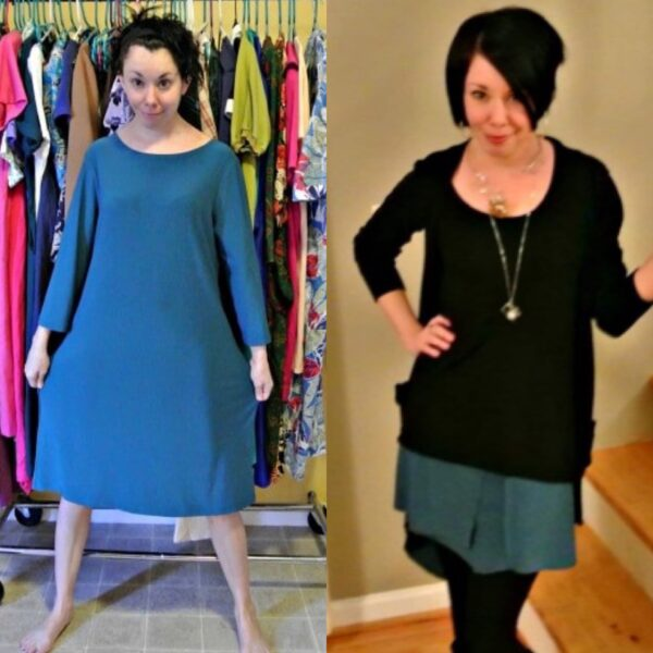 One Dress, Three Ways III: A Dress to Skirt Refashion 2