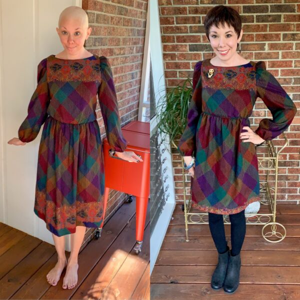 how to raise elastic waist of dress before and after refashionista