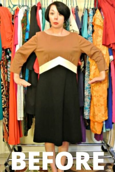Allagash Dress to Top Refashion 2