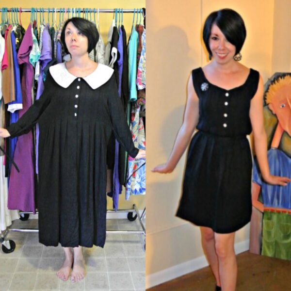 '90s dress refashion