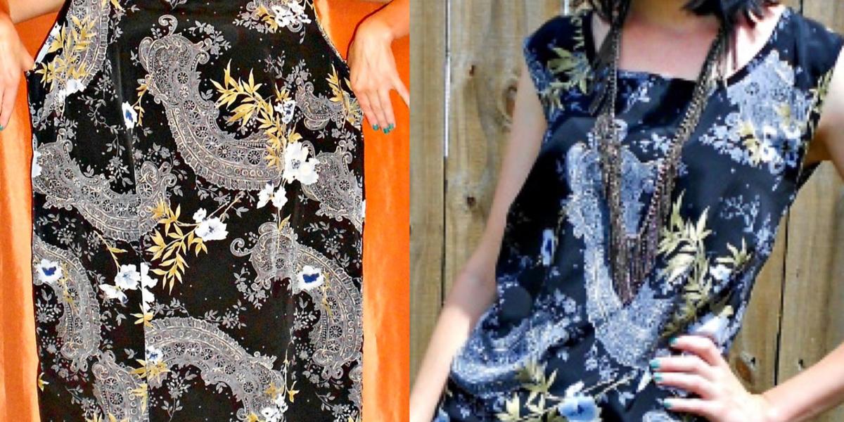 refashioner's block: dress to top refashion featured image