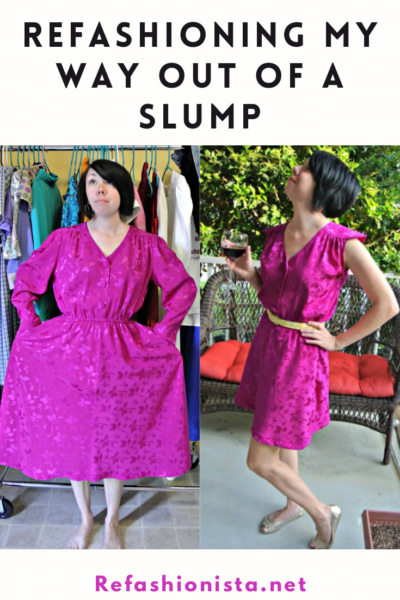 Refashioning my Way Out of a Slump 5