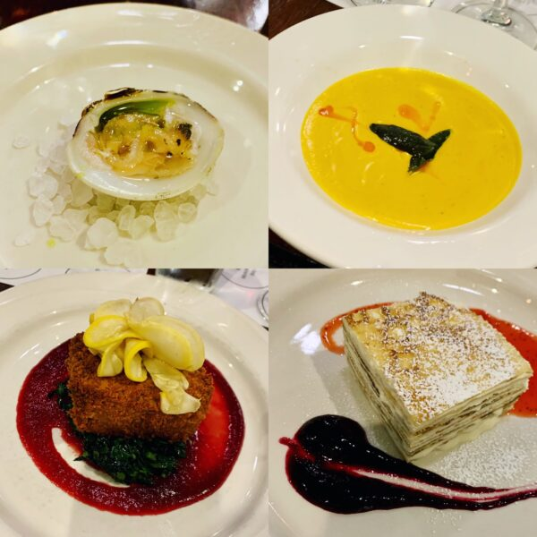 Hampton St. Vinayard dinner