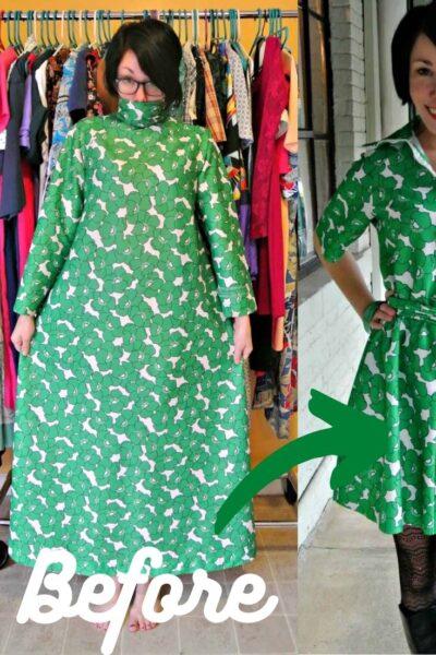 new sew dress refashion