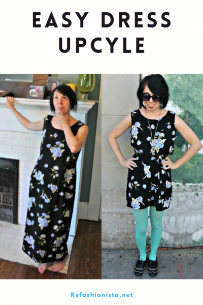 Athens Excursion: An Easy Dress Refashion (With a Pocket!) 3