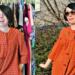 orange housedress refashion featured image