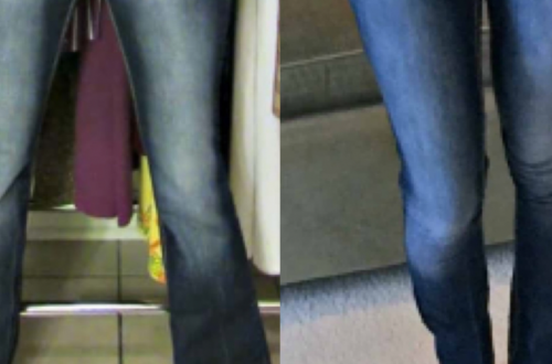 DIY Skinny Jeans from Flared Jeans