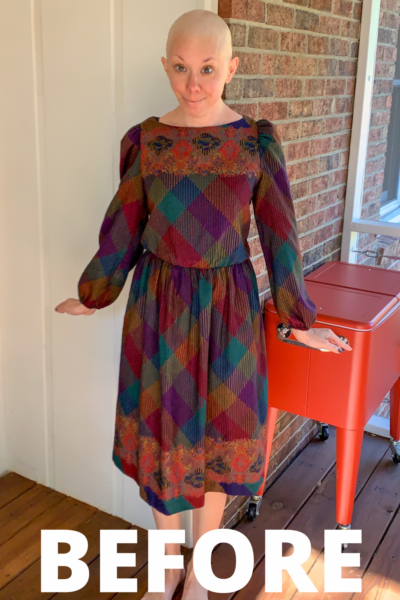 how to raise elastic waist of dress refashionista