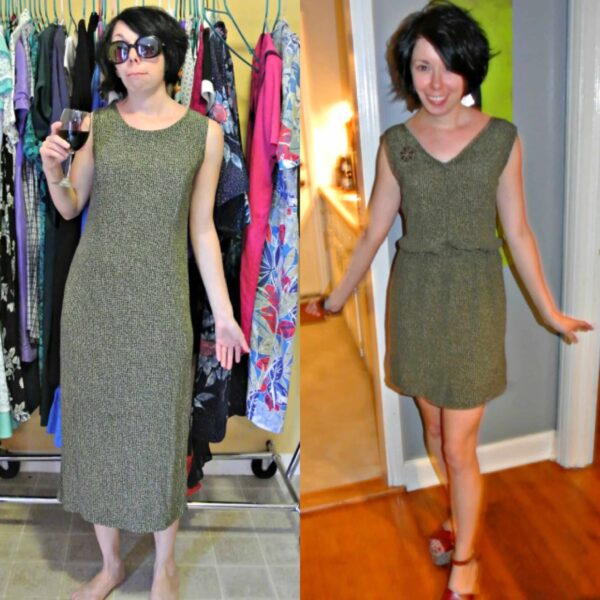 How to Add a Fantastic Elastic Waist to Just About Any Dress! 5