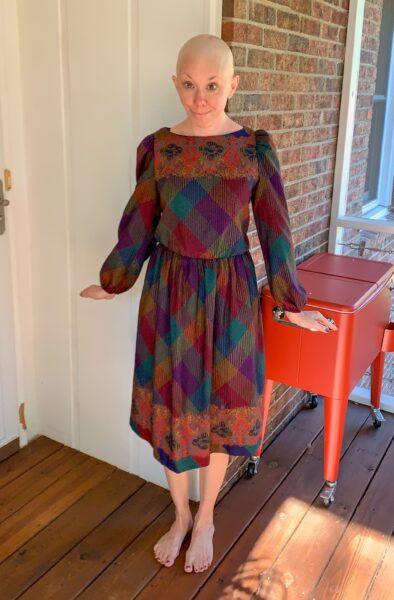 refashionista how to raise elastic waist of dress before