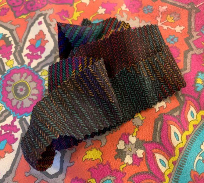 discarded fabric scrap