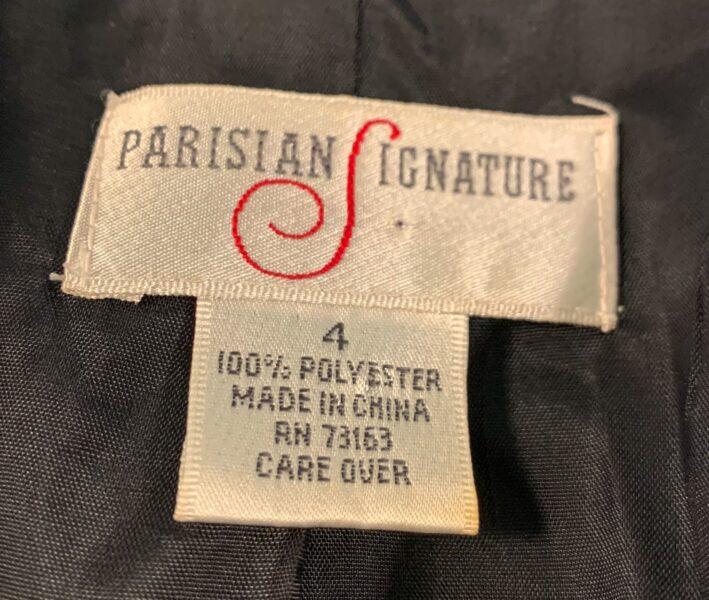 Parisian Signature label