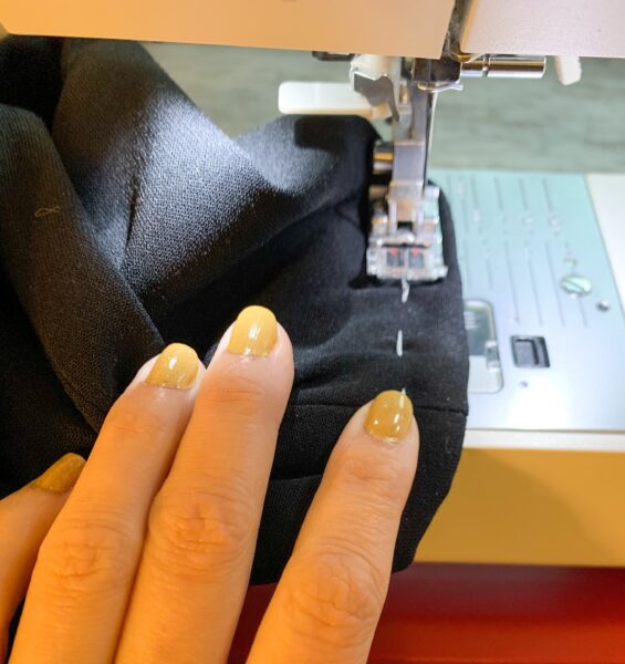 sewing sleeve cuff