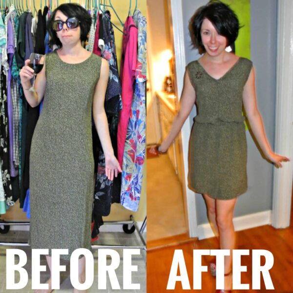 how to add elastic waist before and after