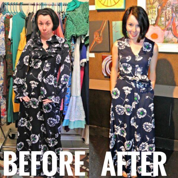 refashionista An Anthropologie-Inspired Maxi Dress Refashion
