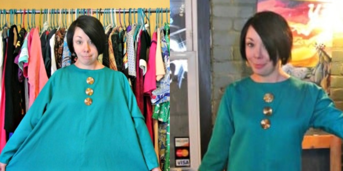 Mod-Inspired Brunch Dress Refashion featured image