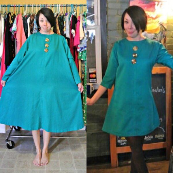 Mod-Inspired Brunch Dress Refashion