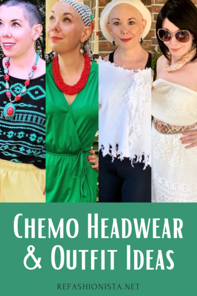 Chemo Headwear & Outfit Ideas pin 1
