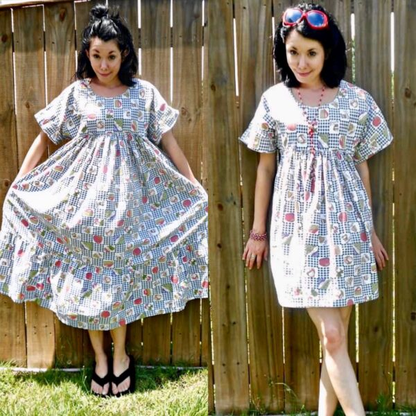 upcycle thrift store housedress