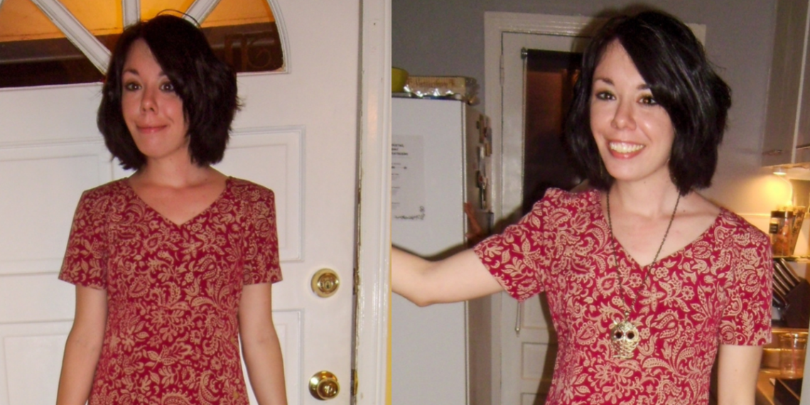 refashionista Shortening a Thrift Store Dress featured image