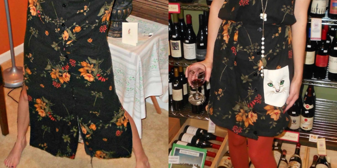 How to Add a Shirt Pocket to a Dress featured image