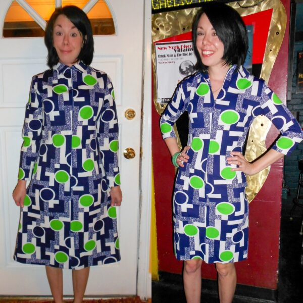 '70s Vintage Housedress Refashion