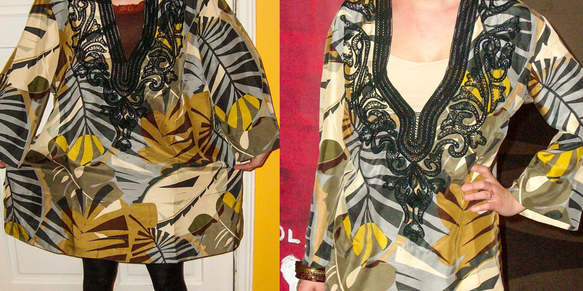 Tunic Top to Dress Refashion featured image