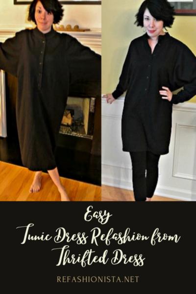DIY Tunic Dress