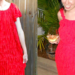 ruffled dress refashion featured image