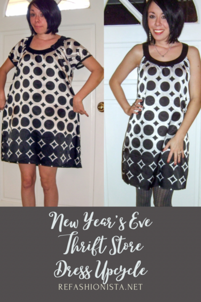 How to Take in a Dress for New Year's Eve