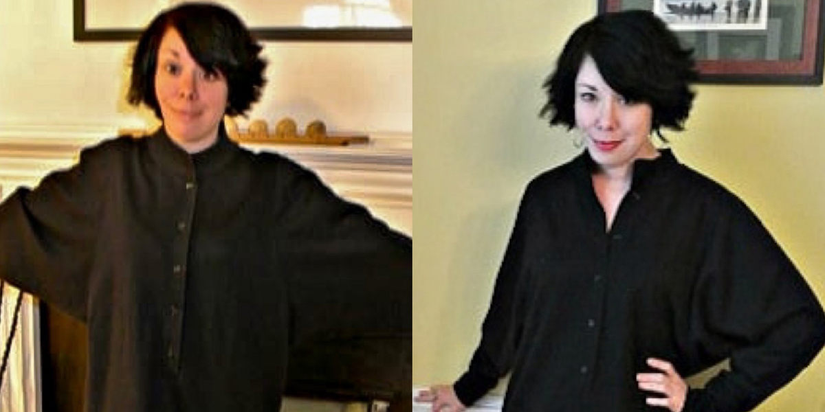 refashionista DIY Tunic Dress featured image