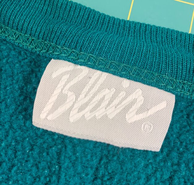 Blair clothing label