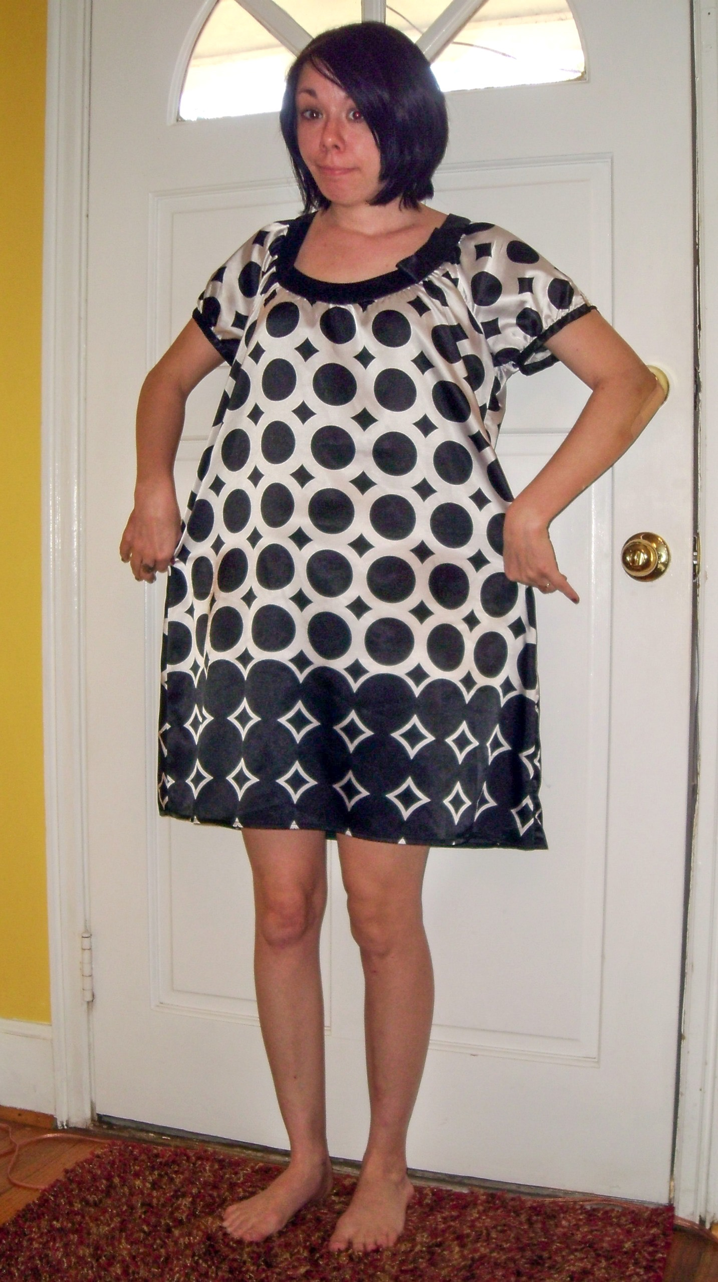 How to Take in a Dress for New Year's Eve before