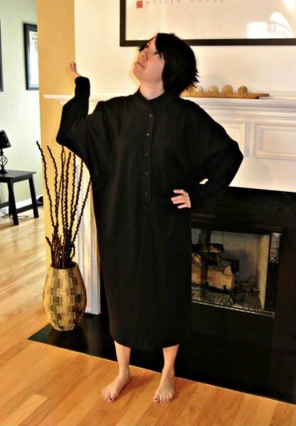 refashionista DIY Tunic Dress before