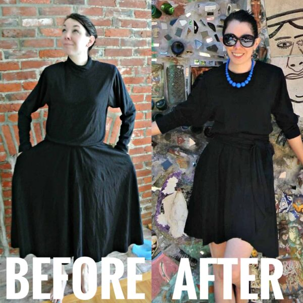 refashionista Refashioning & Thrifting Philadelphia, PA before and after