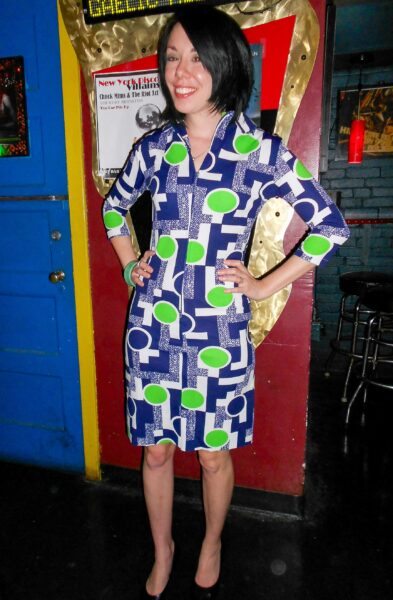 refashionista '70s Vintage Housedress Refashion after