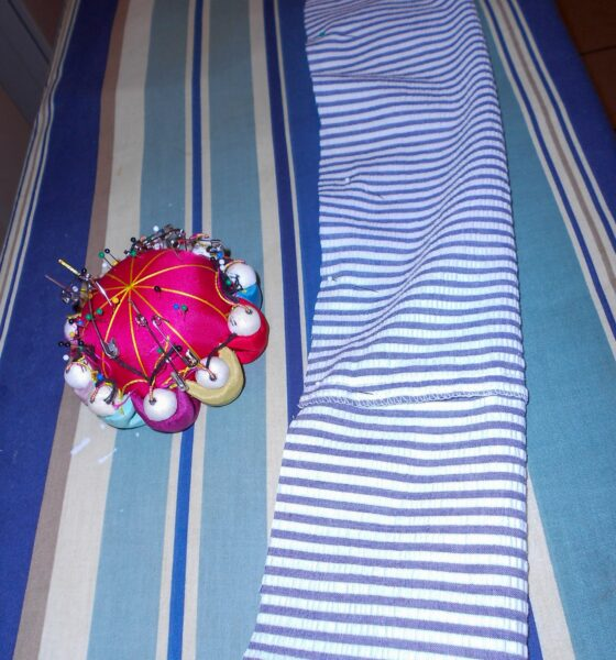 pinning new sash