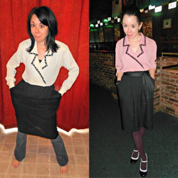 refashionista Dye It: Mauve Maven Dress pin 2