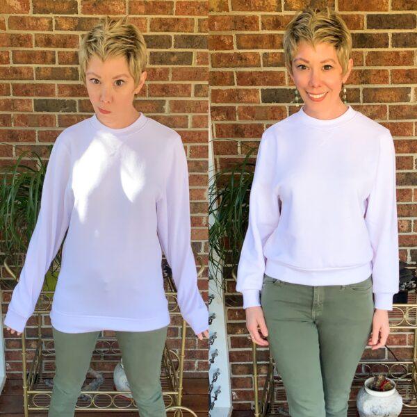 How to Crop a Sweatshirt Pin 9