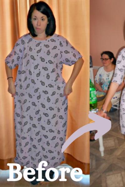 Refashionista Thrift Flip Tunacity Dress Pin