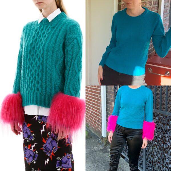 DIY Prada Sweater Dupe Pin 7