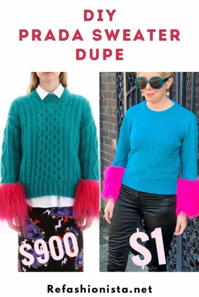 DIY Prada Sweater Dupe Pin 5