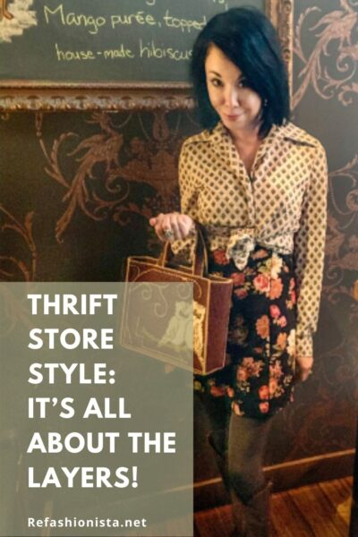 Thrift Store Style Layers Pin 1