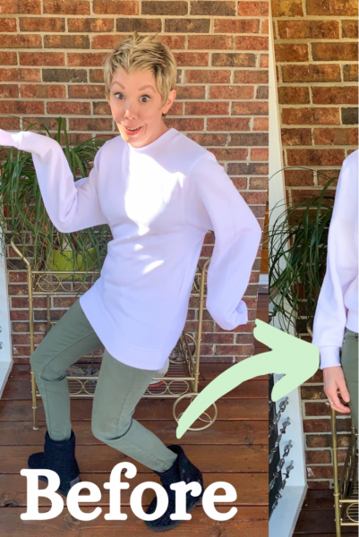 How to Crop a Sweatshirt Pin 3