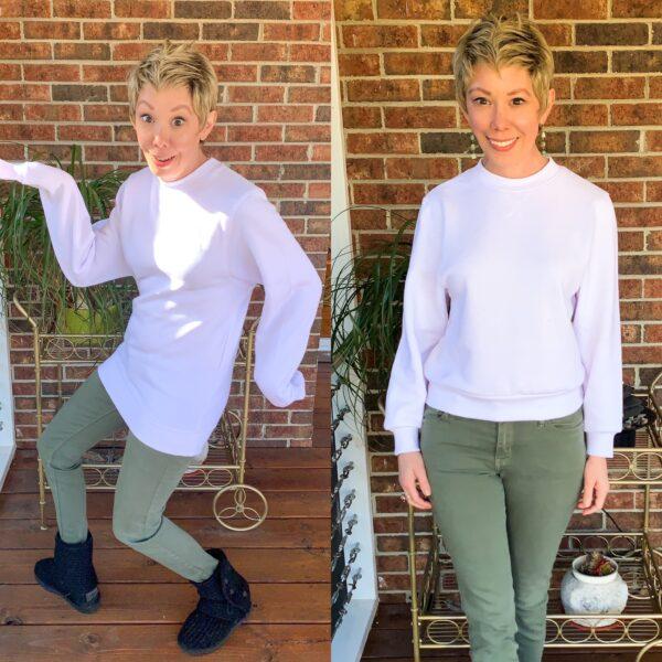How to Crop a Sweatshirt Pin 10