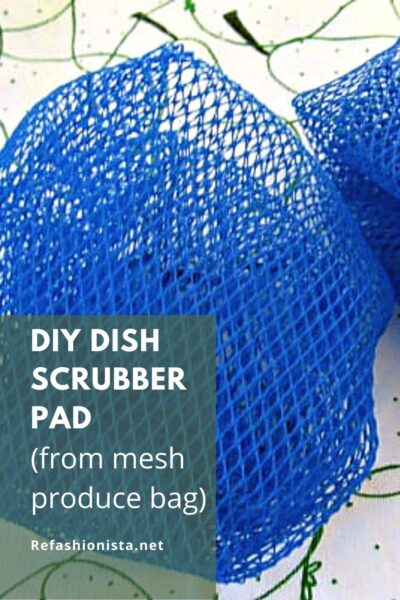 DIY Dish Scrubber Pad pin 1